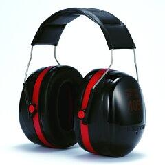 イヤーマフ/極度騒音用イヤマフ/ヘッドバンドタイプ耳栓とイヤーマフの併用で遮音性さらにアッ...