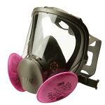 【3M/スリーエム】(大気汚染/黄砂対策)取替え式防塵マスク6000F/2091-RL3【粉塵/作業用/医療用】