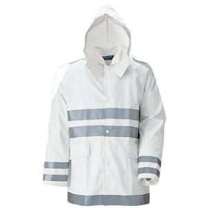 【富士ビニール工業】クールコート夜行雨衣5L(上下セット)【業務用/作業用/レインコート】