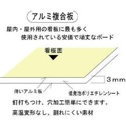 注意看板「私有地に付通り抜け禁止」H300*W100mm