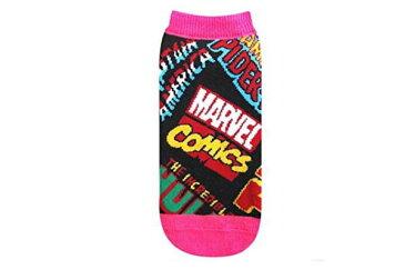 【マーベルキャラクター】スモプラレディースソックス【ロゴ】【スパイダーマン】【マーベル】【MARVEL】【ヒーロー】【アニメ】【コミック】【映画】【アメコミ】【ソックス】【レディース】【くつした】【靴下】【かわいい】
