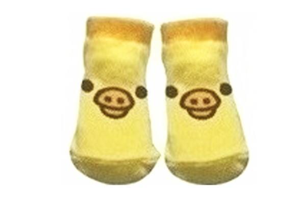 【リラックマ】スモプラベビーソックス【キイロイトリフェイス】【YE】【りらっくま】【サンエックス】【くま】【クマ】【ゆるキャラ】【RIRAKKUMA】【ソックス】【ベビー】【くつした】【靴下】【かわいい】