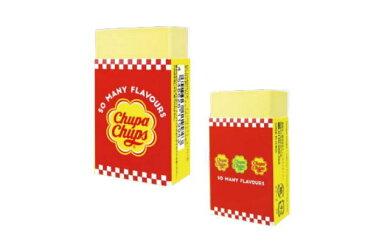 【チュッパチャプス】香り付き消しゴム【チェッカー】 【Chupa Chups】【あめ】【あめちゃん】【お菓子】大人気!