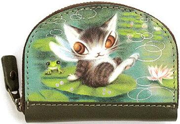 【ネコポス便配送選択可】ダヤン わちふぃーるど 小銭入れ 睡蓮BABYコインケース(猫のダヤン ダヤングッズ 猫雑貨)