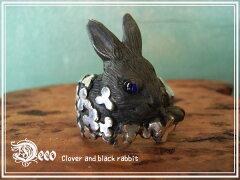 ギフトに大好評!御注文後、ご希望のサイズで御作りします♪表情豊かなウサギのアクセサリー送...