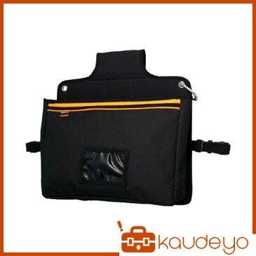 TRUSCO 楽チン台車バッグ マチ付きポケット型 ブラック TOPDBB 3100