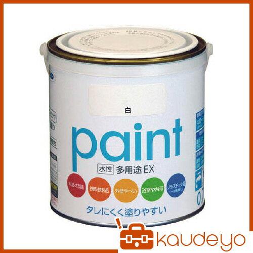 アサヒペン 水性多用途EX 0.7L 白 459312 1399