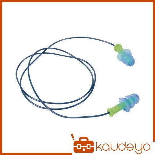 TRUSCO 耳栓 コード付 3段フランジ金属入りタイプ 25dB TEK25H 8539