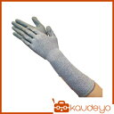 TRUSCO グラスファイバー手袋PU手のひらコートロング L ...