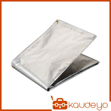 TRUSCO アルミ蒸着塩ビ遮熱シート 1.8×2.7M TRSPC1827 3100