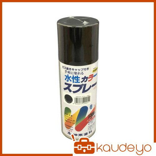 シントー 水性カラースプレー ブラック 300ML 29050.3 3058