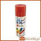 シントー 水性カラースプレー レッド 300ML 29080.3 3058