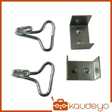 ユタカ 金具 ゴムロープ金具 20mm用二本線カギフック コの字金具 GA10 8200