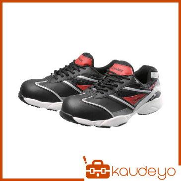 シモン プロテクティブスニーカー KA211黒/赤 25.5cm KA211BKRED25.5 3043