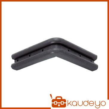 スギコ L型コーナーゴム 151×151 黒 TO203B 3181