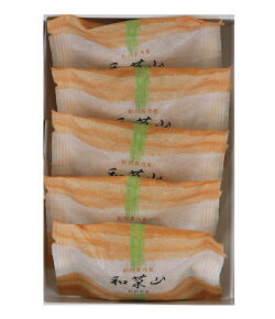 和菓山5個入り。酸味と甘みのバランスが絶妙な後味の良い焼き饅頭。和菓子/スイーツ/どらやき/おいしい/お取り寄せ/ギフト/進物/贈り物/贈答用/プレゼント