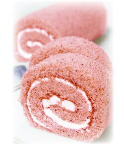 ※商品発送は2/15(日)〜3/31(火)発送分までの期間限定です。苺のバターロールケーキ[1本]