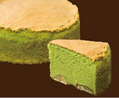 京都宇治抹茶と国産最高級渋皮栗を使った贅沢なバターケーキふんわり抹茶のバターケーキ