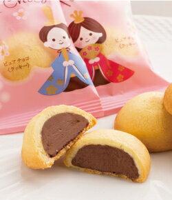 ひなまつりピュアチョコクッキー(6個袋入)