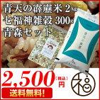青森ブランド青天の霹靂2キロ食味「特A」