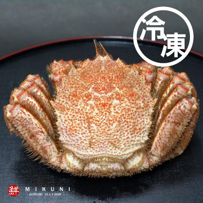北海道産!冷凍毛ガニ【冷凍:甲羅の横幅サイズ約10cm前後】