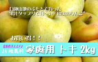 安全・安心・美味しい★JA相馬村【家庭用・トキ】2kg(7-8玉)※同梱可
