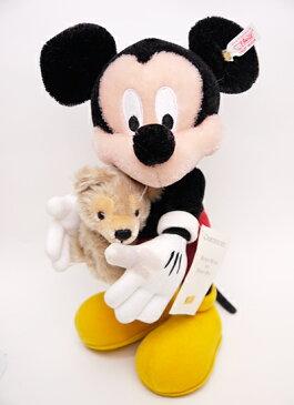 【難あり特価】WDW限定シュタイフ2006ミッキー with his Disney Bear【楽ギフ_包装】【楽ギフ_メッセ入力】【RCP】【メッセージカード無料】【5002014】