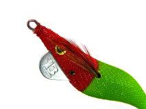 ブリーデン(BREADEN)☆エギマル2.5号ShallowタイプST赤緑グロー