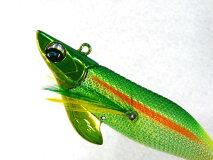 ダイワ(DAIWA)☆エメラルダス(Emeraldas)ボート23.0号35g#4金ホロ-チャートグリーンイエロー