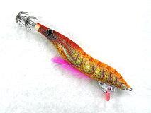 ヤマシタ(YAMASHITA)☆エギーノ(eginno)ぴょんぴょんサーチ3.0号R06SROサンライズオレンジ(490グローボディ)