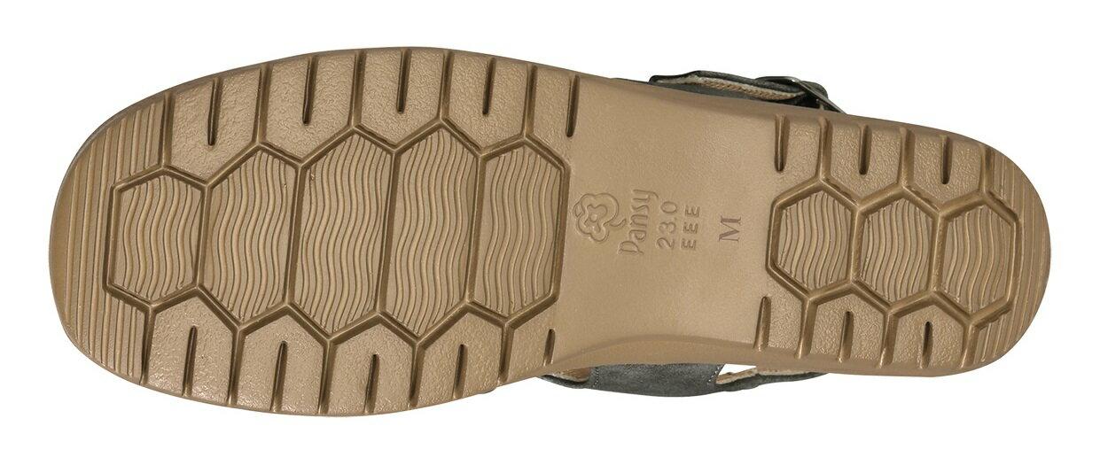 パンジー サマー 夏 サンダル婦人用 バックベルトサンダルPansy レディース足にフィットするクロスデザインBB5500