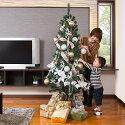 クリスマスツリーセット/スタンダードクリスマスツリー180cm+オーナメント2キット
