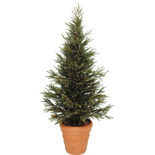 人工植物造花/モミツリー1.8m/GD-153S