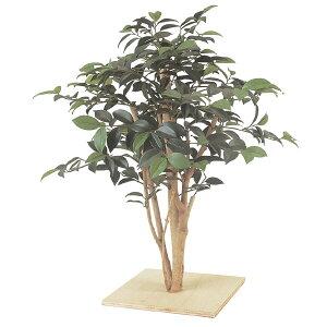 空間の雰囲気を一変します。【送料無料・人工植物】ミニサザンカ板付 60cm