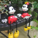 ガーデンやインテリアを可愛く演出♪足ブラ ミッキー&ミニーセット[TD-FD01/02]【Disneyzone】...