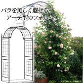 ガーデンアーチ バラ/G-story クライミングアーチ ローズキャッスル GSTR-RC10 /ローズ/つる/クレマチス/アイアン/大型商品のため日時指定不可