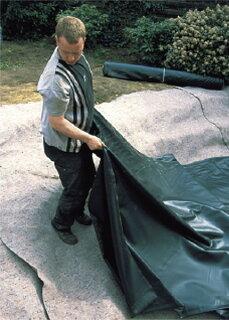 防水シート池/プールライナー2×2.5mPL-2/ファウンテン/噴水/ビオトープ/庭池/タカショー