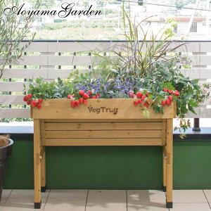 11%OFF / 鉢 プランター ベジトラグ 菜園 スタンド 木製 ガーデニング タカショー / ホームベジトラグ ウォールハガー S /A