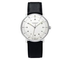 デザイナー、マックスビルによるメンズ腕時計。ユンハンスのウォッチです。(MAX BILL)マックス...