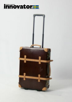 Vintage innovator innovator trunk 50 cm (chocolate) suitcase carry bag carry case fs3gm