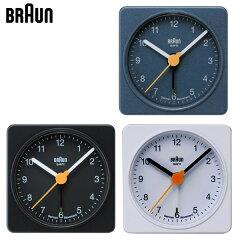 ブラウンBRAUN アラームクロック BNC002 ブラウン クロック 目覚まし時計/目覚し時…
