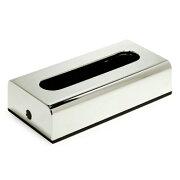 クーポン イタリア ティッシュ ボックス クローム スタンダード シャープ デザイン