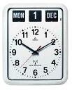 TWEMCO 電波クロック(電波時計)RC-12A (ホワイト)おしゃれな掛け時計・壁掛け 送料無料 キャッシュレス5%ポイント還元の写真