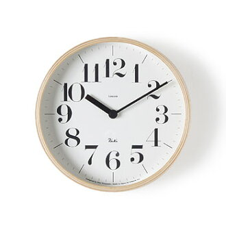 0401 (bold-faced type) Riki Riki clock wall hangings clock small size wall hangings, fashion, wooden wall clock 】 shining in a good design prize