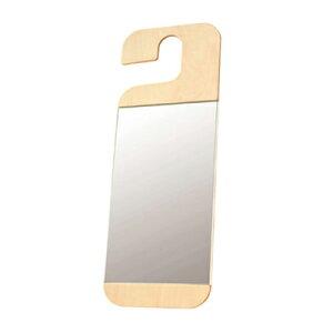 【Lemnos】 クローゼットにかけて使える鏡 「HANG (Da-04)」【10P19Dec…