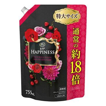 《P&G》 レノア ハピネス ヴェルベットローズ&ブロッサムの香り つめかえ用 特大サイズ 755mL