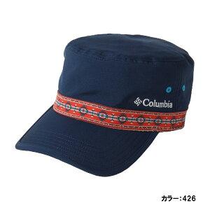 【最大4%OFFクーポン対象】コロンビア(Columbia) ウォルナットピークキャップ 帽子 メンズ レディース ユニセックス (19aw) Columbia Navy/Carnelian Red ネイビー 紫外線カット UVカット pu5042-426