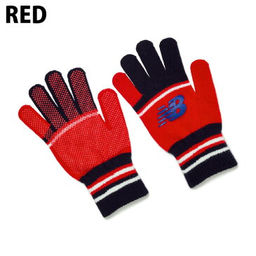 ニューバランス (newbalance) プレイヤーニットグローブ メンズ (19aw) レッド JAOF9715-RED