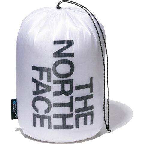 ザ・ノースフェイス(THE NORTH FACE) パーテックススタッフバッグ5L Pertex(R)Stuff Bag 5L (19ss) ホワイト×ブラック 7L NM91901-WK
