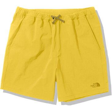 【最大4%OFFクーポン対象】ザ・ノースフェイス(THE NORTH FACE) 短パン リアクションドライショーツ Reaxion Dry Shorts メンズ バンブーイエロー NB42092-BA